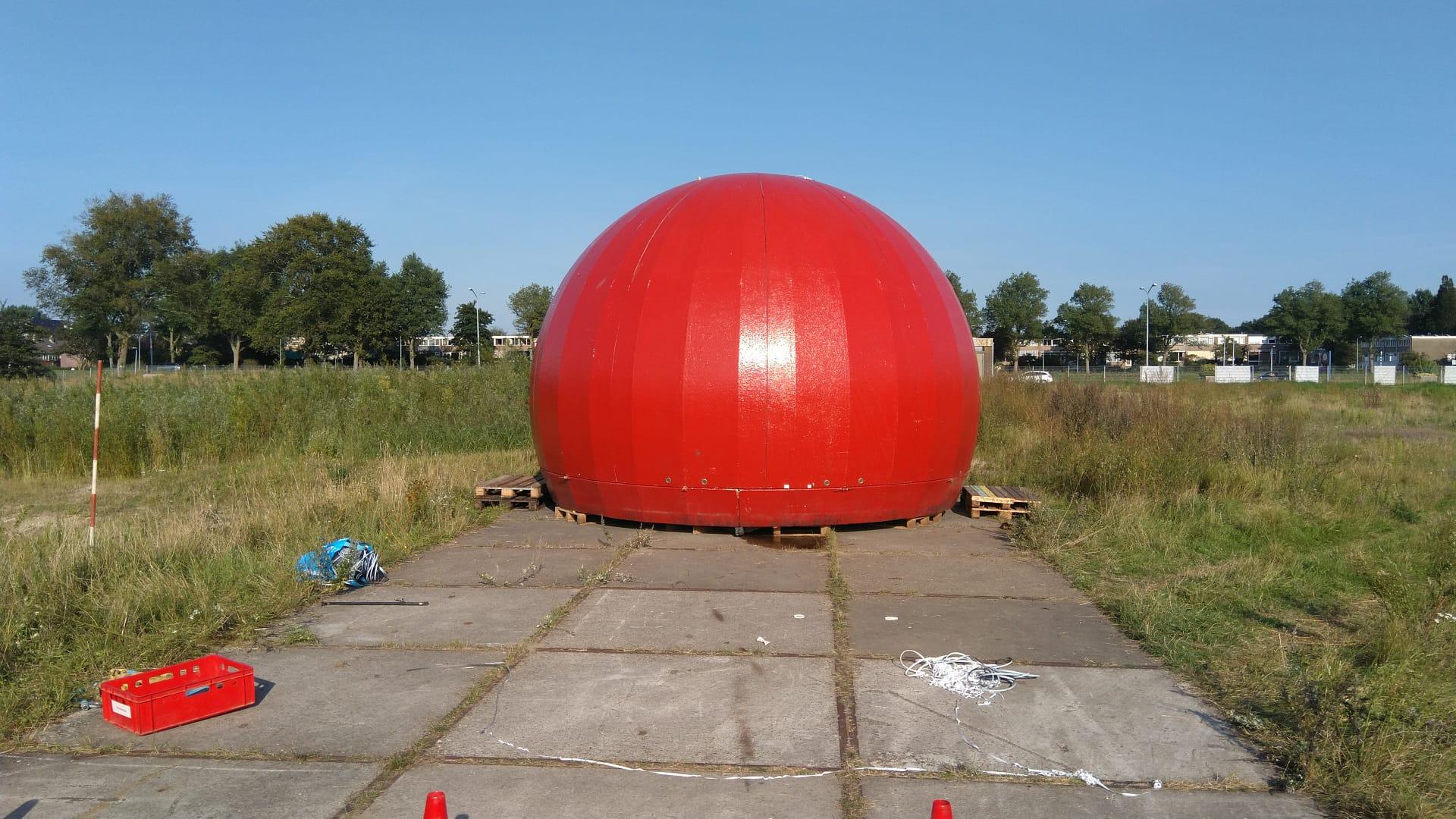 Rode Bol is gearriveerd